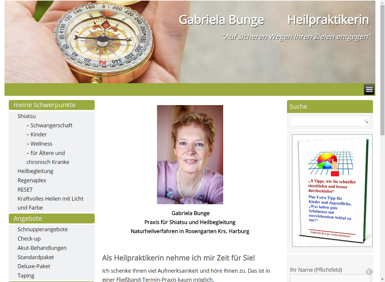 Projekt Heilpraktikerin Gabriela Bunge