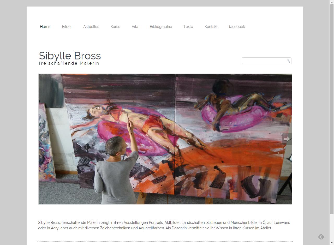 Projekt Sibylle Bross freischaffende Malerin