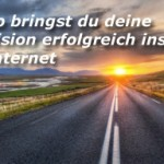 Webinar So bringst du deine Vision ins Internet