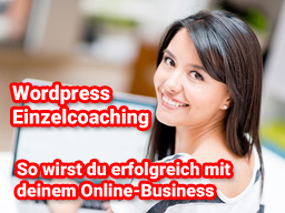 Wordpress Einzelcoaching