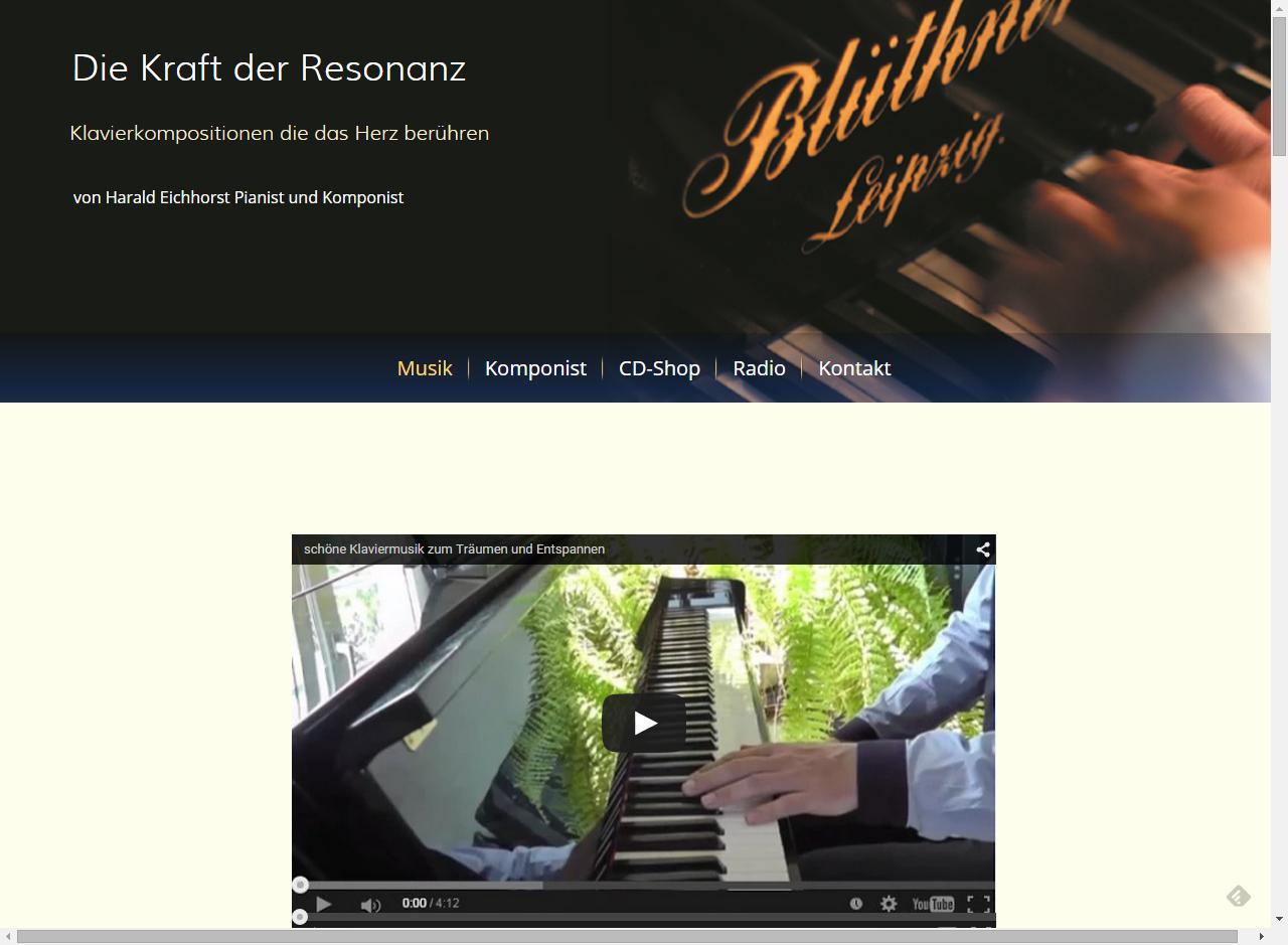 schoene-klaviermusik Klavierkompositionen von Harald Eichhorst