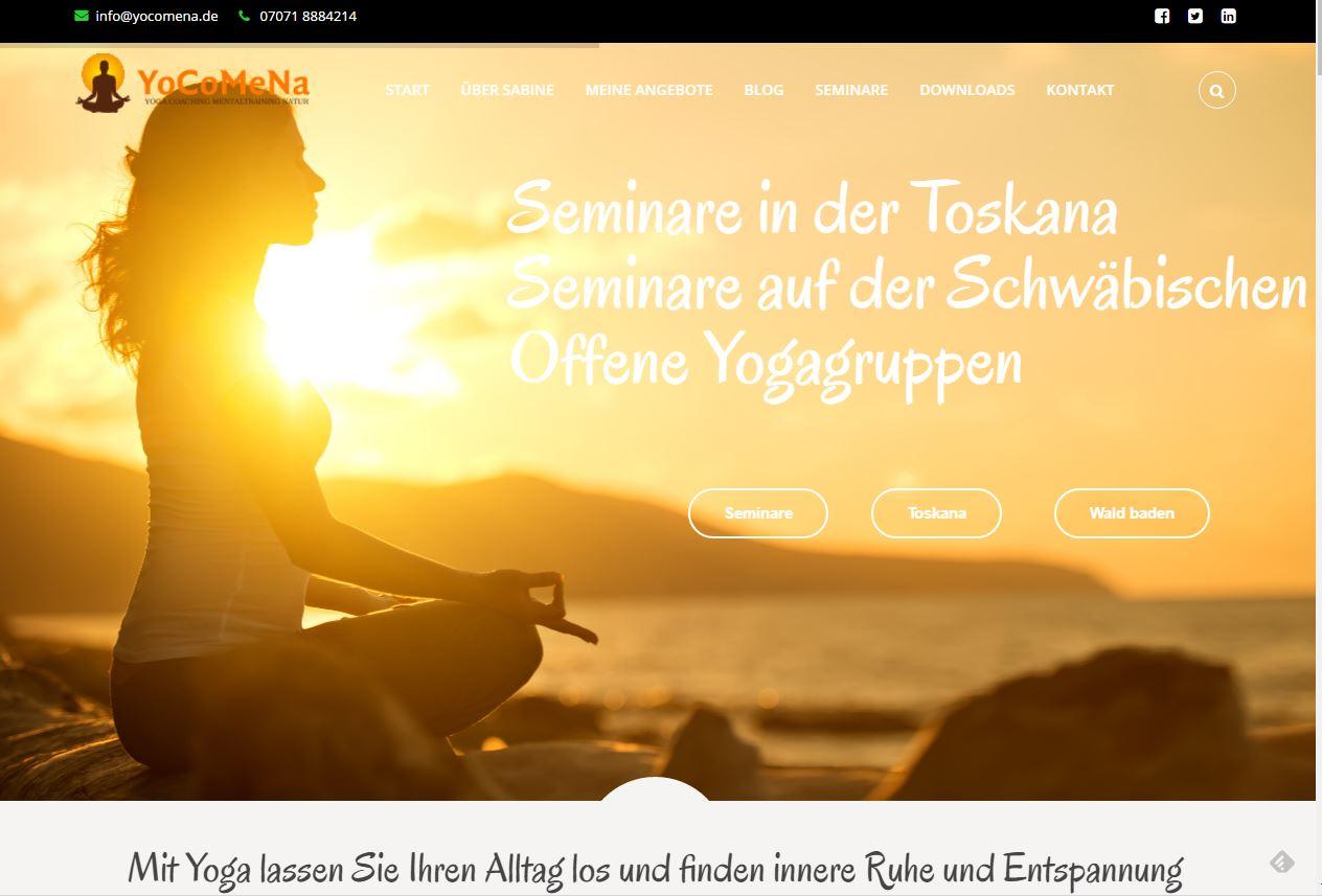 Sabine Mauersberger Yocomena Intenetprojekt Eichhorst-IT